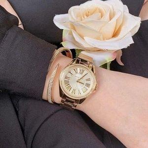 Michael Kors Kacie Ladies Analog Watch Rose Gold